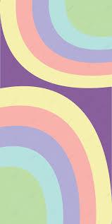 Simple Fluid Pastel Rainbow Color ...
