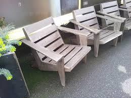 adirondack chair kits modern wood patio chair plans stunning cool modern adirondack chairs from