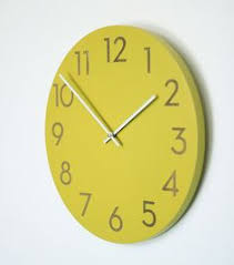 14 inch large modern wall clock