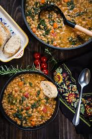 Add the onion, carrots, kombu, and bay leaves, turn the heat. Vegan Tuscan White Bean Soup In The Instant Pot Fatfree Vegan Kitchen