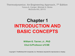 Chapter 1 INTRODUCTION AND BASIC CONCEPTS - ppt video online download