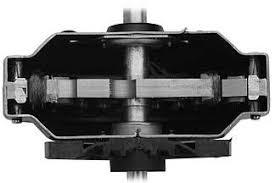 ceiling fan motor. large stamped ceiling fan motor