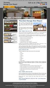 thorntongaragedoorrepair competitors revenue and employees owler company profile