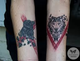 Black And Red Shari Freedom Tattoo