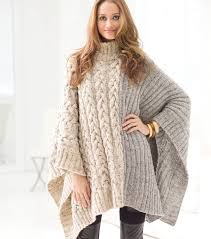 Free Knitted Poncho Patterns Interesting Decorating Design