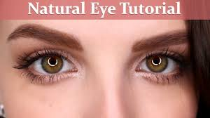 natural eyeshadow tutorial beginner makeup tips