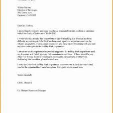 Sample Resignation Letter Format Doc Refrence Resignation Letter