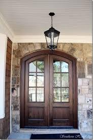 painted double front door. Lantern Light Fixture Fixtures Best 25 Double Front Entry Doors Ideas On Pinterest Gorgeous Black Door Painted
