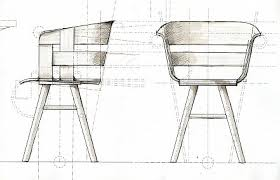 chair design drawing. Early Concept Sketch. \u201c Chair Design Drawing R