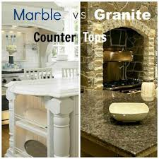 Small Picture Marble vs Granite Kitchen Countertop