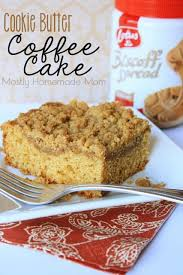 They are so named because they're seen as a cake a soft, homemade, easy and single serving coffee cake in a mug recipe. Cookie Butter Coffee Cake Mostly Homemade Mom