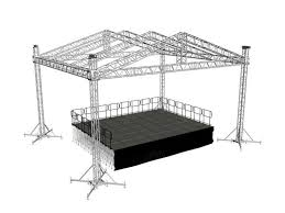 diy portable stage small stage lighting truss. Portable Stage Design Of Roofing Aluminum Truss Used Event Rental Diy Small Lighting