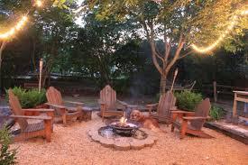 backyard fire pit area designs photo 2