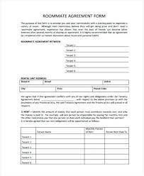 Free Hunting Lease Agreement Form Awesome Roommate Rental Template ...