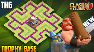 Clash Of Clans Th6 Base Design New Best Town Hall 6 Th6 Trophy Base 2018 Coc Th6 Trophy Base Design Defence Clash Of Clans
