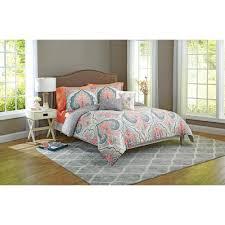 better homes and gardens grey medallion 5 piece bedding comforter set com