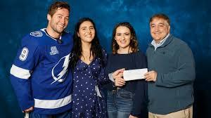 Brooke Shapiro & Macie Lavender honored as Lightning Community Heroes