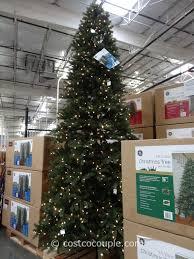 GE 12Feet Prelit LED Christmas Tree12 Ft Fake Christmas Tree