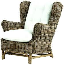 rattan wingback chair best indoor wicker chairs chair chairs traditional home and indoor wicker wingback chairs