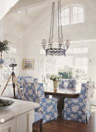 love the freshness of slipcovered chairs dining room design dining rooms dining area