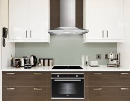 chimney in kitchen design. design: modern minimalist kitchen design with bosch electric chimney in 0