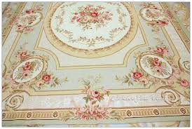 pastel blue ivory pink area rug free ship french shabby rose chic housewares home decor aubusson