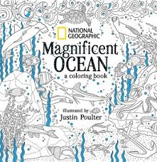 national geographic magnificent ocean a coloring book
