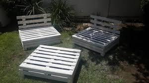 patio furniture pallets. Garden Furniture Set Made Of Pallets Patio