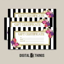 Last Minute Printable Gift Certificates Download Them Or Print