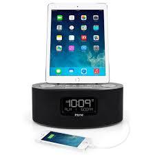 Amazon.com: iHome iDL46 Lightning Dock Clock Radio and USB Charge/Play for  iPad/iPod and iPhone 5/5S and 6/6Plus iPad Air /iPad Mini (Gray): Home  Audio & ...
