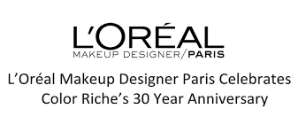 press release l oréal makeup designer paris celebrates color riche s 30 year anniversary