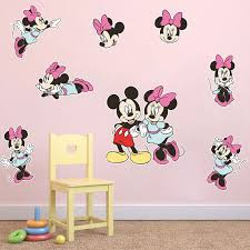 minnie mouse wall stickers for girls