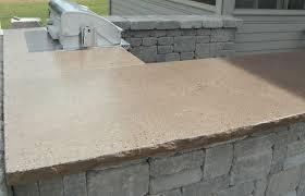concrete countertops outdoor kitchen
