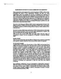 barriers to effective human resource management university barriers to effective human resource management