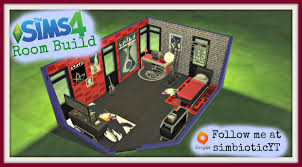 Punk Bedroom Sims 4 Teen Punk Style Room Youtube