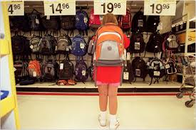 Weighing School Backpacks The New York Times