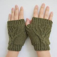 Tree Of Life Fingerless Gloves Pattern By Jenny Williams