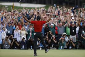 Golf history: Tiger Woods at the 2019 Masters - Los Angeles Times