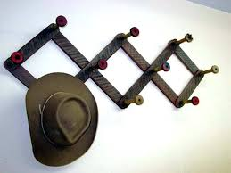 wall mounted hat display clothing hooks astonishing wall mounted hat racks display within hangers for plans wall mounted hat