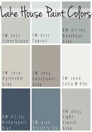 Lake House Paint Colors Color Charts Paint Colors For