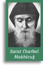 Saint Charbel Makhlouf. (20 pièces). Image 2 volets - 7,5x12 cm - lot de 20 ... - fim67