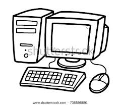 computer clipart black and white. Wonderful And Computer Clipart Black And White And Computer Clipart Black White