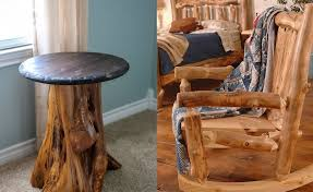 mobilier rustic din lemn rotund How to make rustic wood furniture 1 980x600