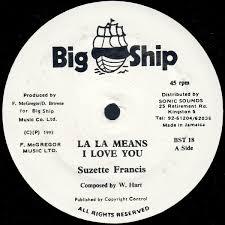 Suzette Francis – La La Means I Love You (1993, Vinyl) - Discogs
