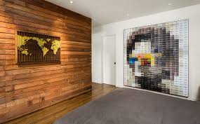 incredible design ideas bedroom recessed. Wood Wall Decor Ideas Bedroom Contemporary With White Door Pixel Art Floors Incredible Design Recessed