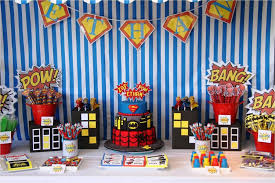 plan for a party theme
