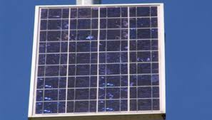 typical residential solar panel