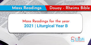 This resource is not meant to replace the use of the. Daily Mass Readings 2021 Catholic Gallery