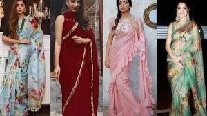 Designer Saree 2019 Latest Designer Saree Ideas New Saree Trends 2019 Partywear Saree Designs Collection Buy Link