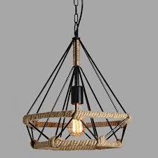 retro indoor lighting vintage pendant light led lights 24 kinds iron cage lampshade warehouse style light fixture chandeliers chandelier earrings from